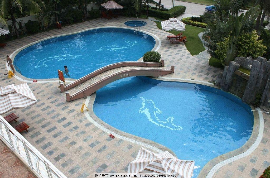 泳池意向图 园林 绿化 水景 泳池 景观 园林景观 园林建筑 建筑园林