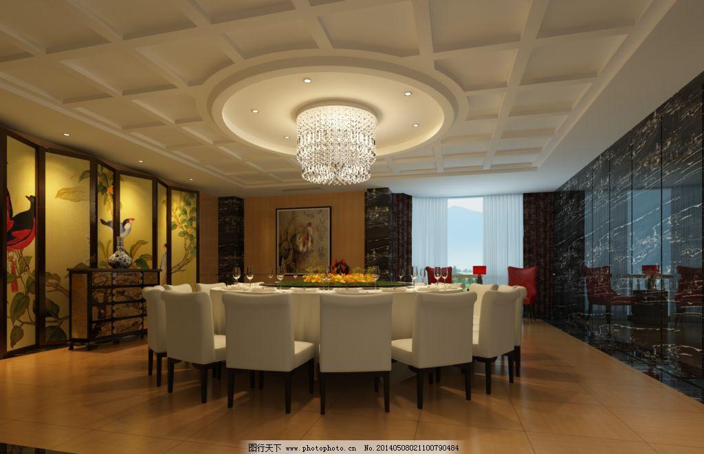 餐厅包房 酒店包房 包房效果 3d效果图 灯光效果 3d作品 3d设计 设计