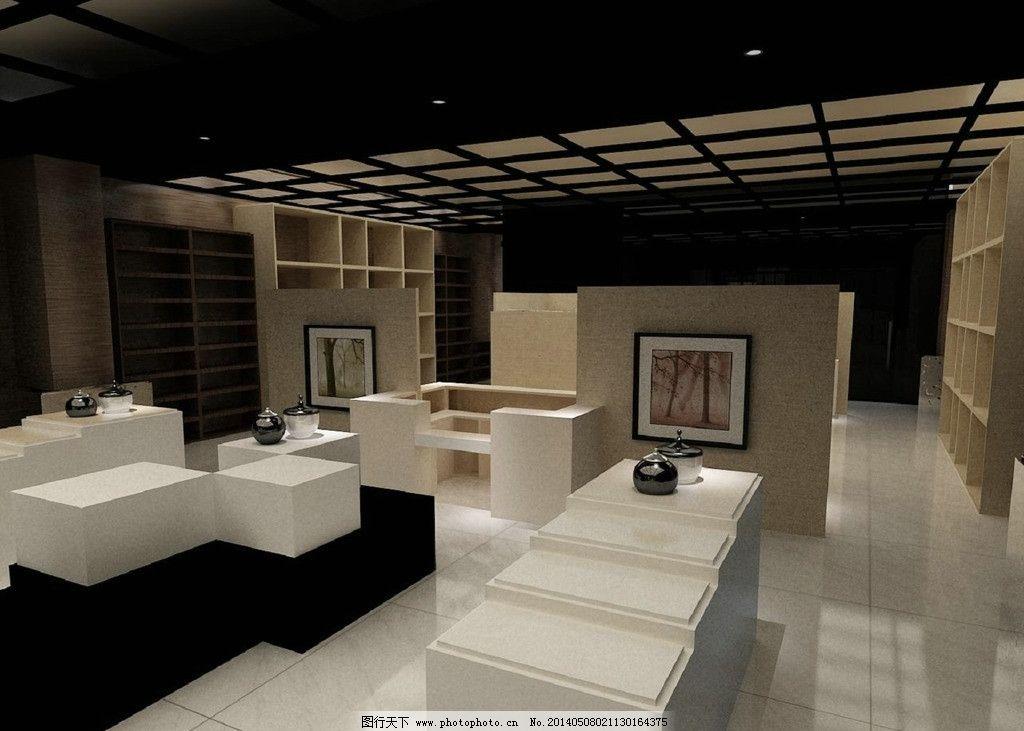 展厅设计图 陶瓷 展厅        室内 设计 3d设计 96dpi jpg