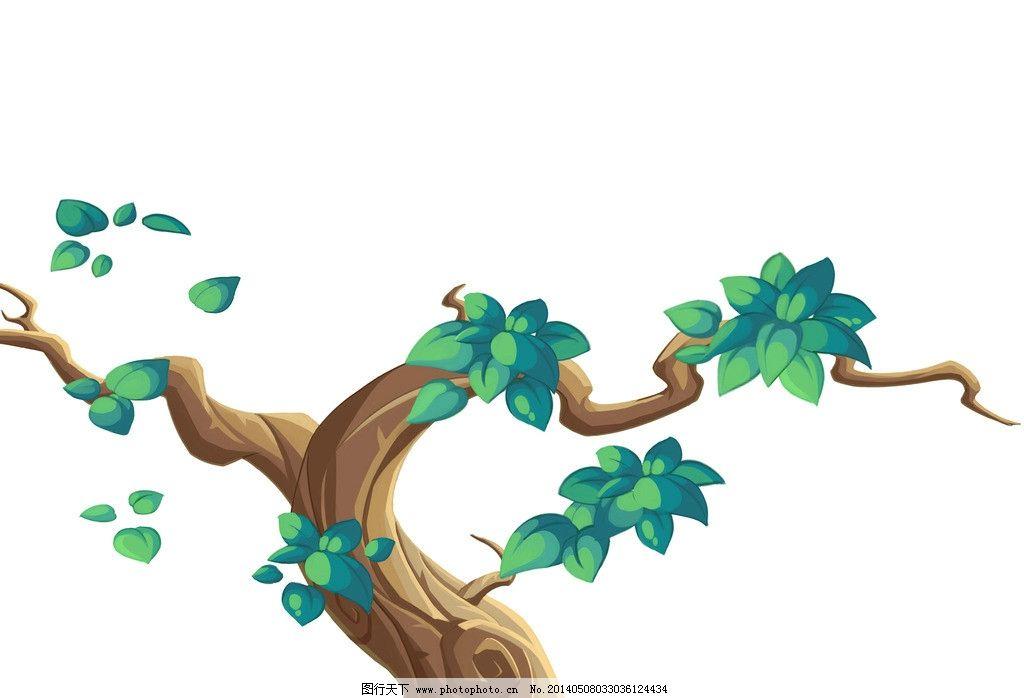 ps手绘树图片