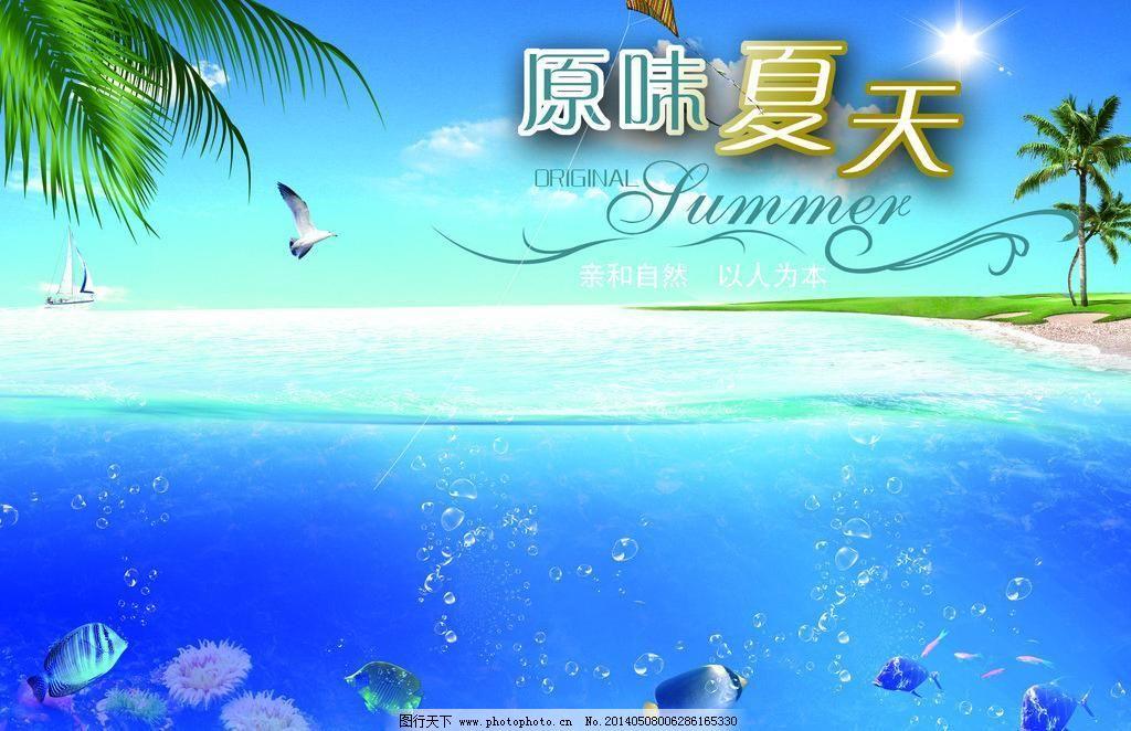 清凉夏日图片