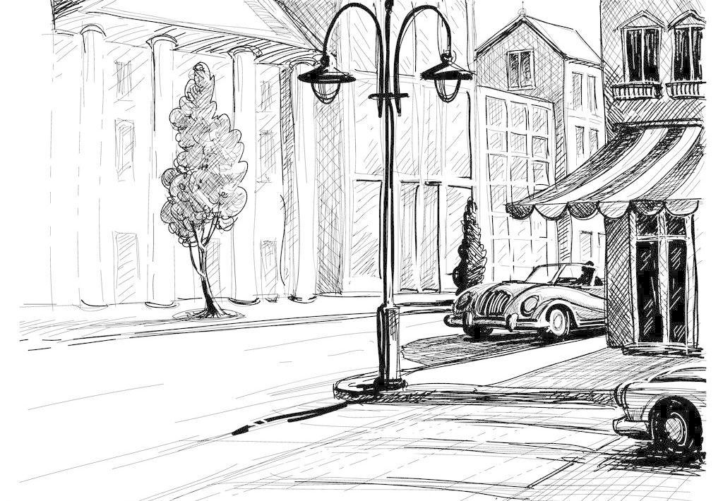 手绘建筑 城市建筑 绘画书法 建筑家居 建筑园林 欧式建筑 欧洲建筑