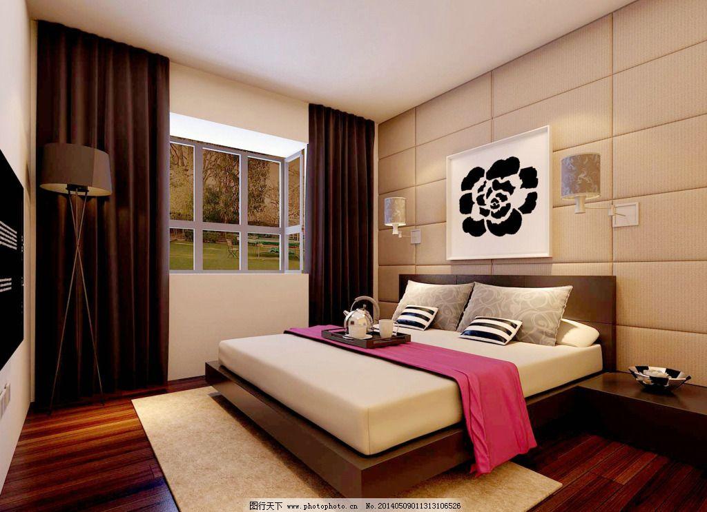 卧室素材_室内设计_装饰素材