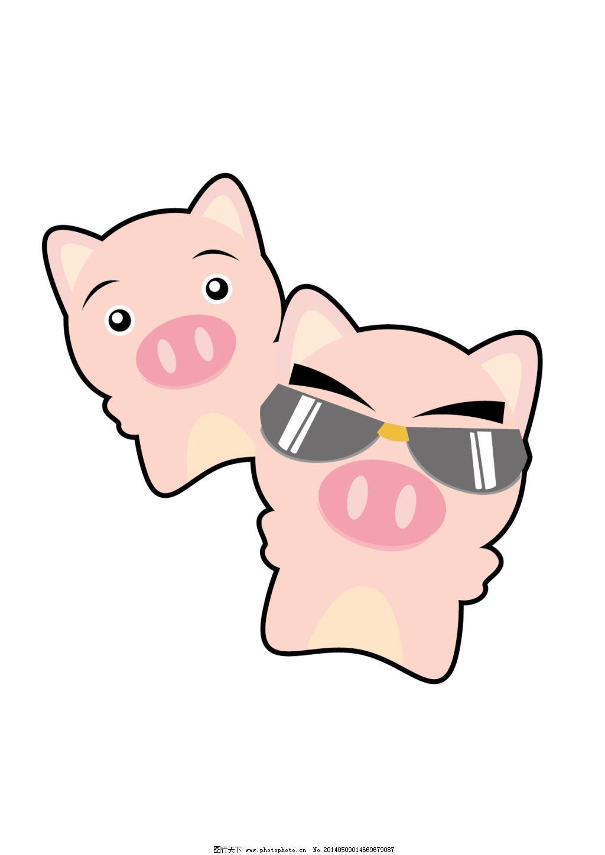 可爱的猪仔免费下载 q版 动漫 角色 卡通 卡通人物 可爱 其他 人物
