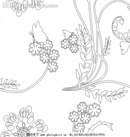 雕刻 刻绘 欧式花 欧式花纹 韩国花纹 花纹 雕花 玄关 隔断 屏风 木雕