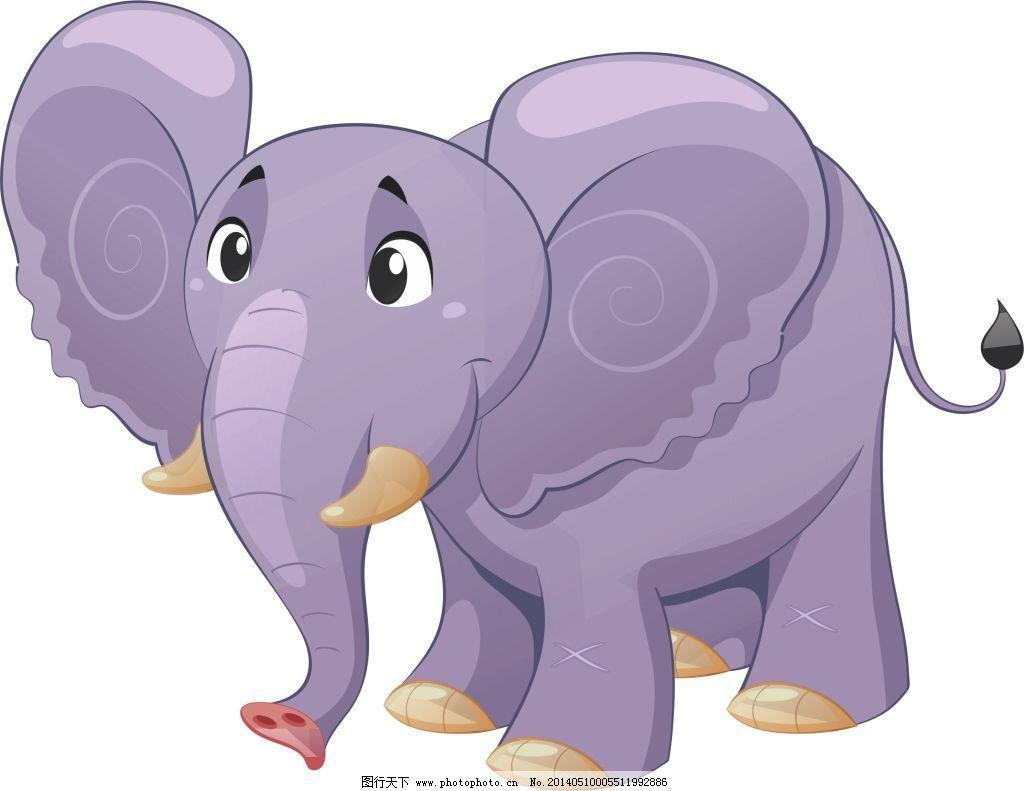 大象免费下载 大象 动物 卡通 大象 动物 卡通 矢量图 其他矢量图