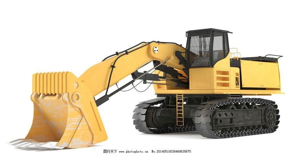 挖土机 挖土机图片设计素材 挖土机图片模板下载 挖土机图片 机器
