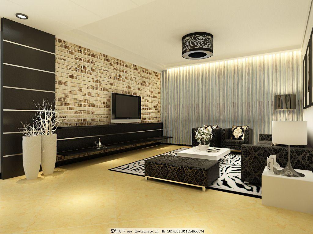 黑白设计免费下载 沙发 室内 装修 室内 装修 沙发 家居装饰素材 室内