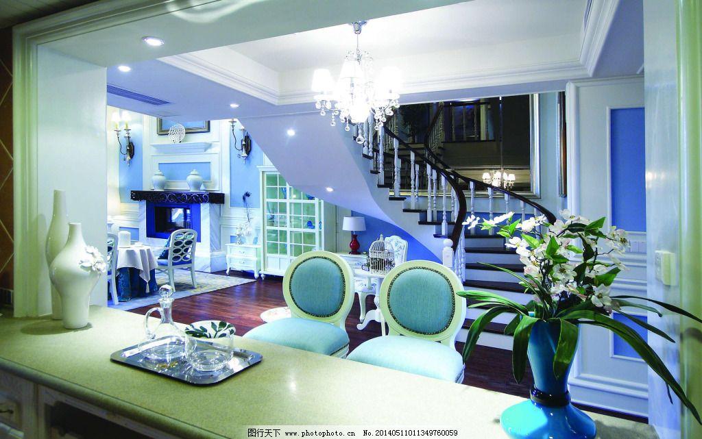 地中海楼梯设计 地中海楼梯设计免费下载 装修 参考设计 装饰素材图片