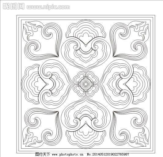 方框图 玻璃图案 艺术玻璃 工艺玻璃 花边花纹 雕刻 刻绘 欧式花 欧式