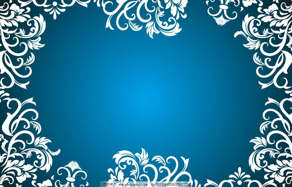 花纹边框 精美花纹图片