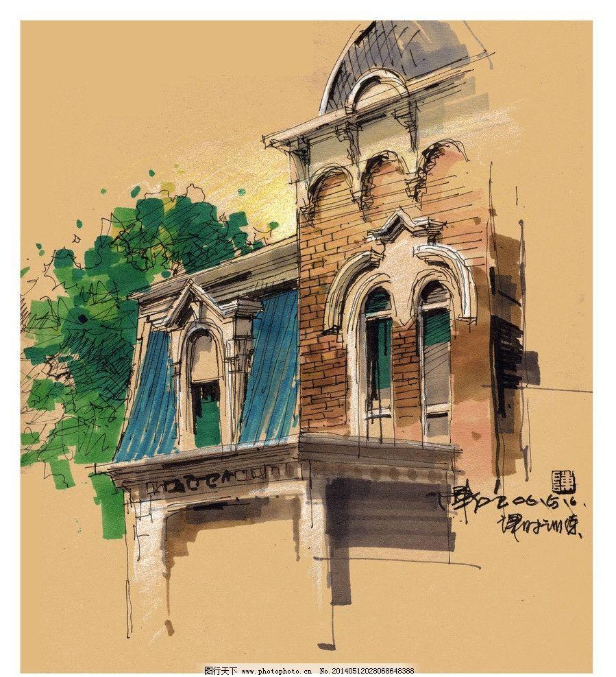建筑 设计 手绘图图片