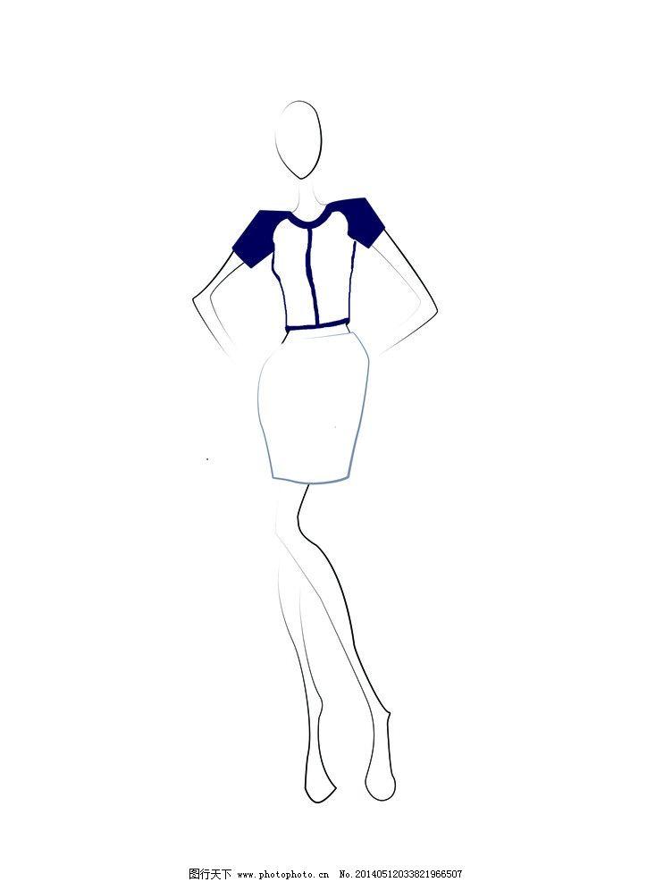 青花瓷系列服装图片