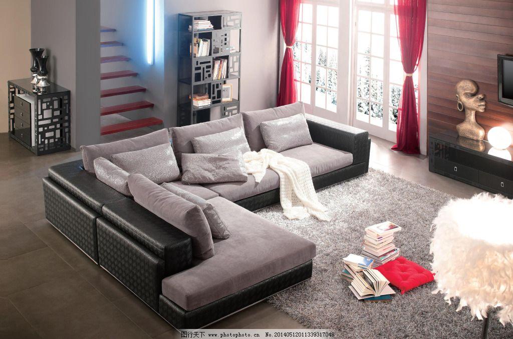 真皮沙发 真皮沙发图片免费下载 茶几 地毯 真皮沙发背景 落地画
