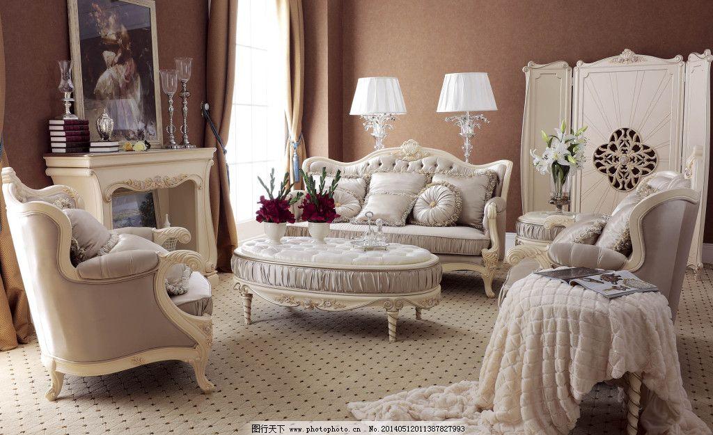 欧式沙发客厅图片