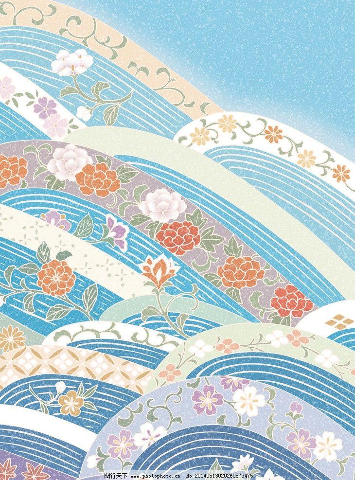 日式和风背景图片