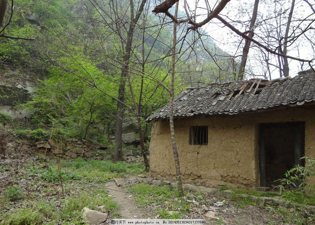 农村 安静 春天 土房子 破旧 其他 旅游摄影图片