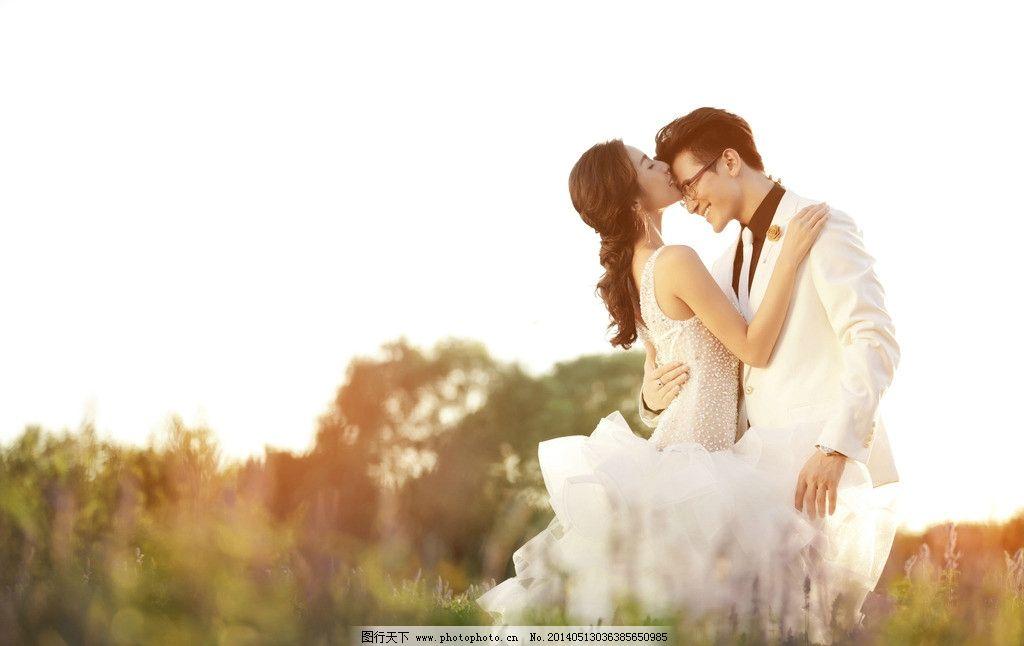 薰衣草婚纱照 薰衣草 婚纱照 唯美 小清新婚纱照 韩式婚纱照 人物摄影