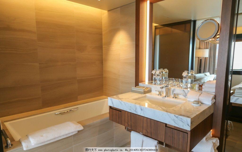 酒店客房卫生间装修图片