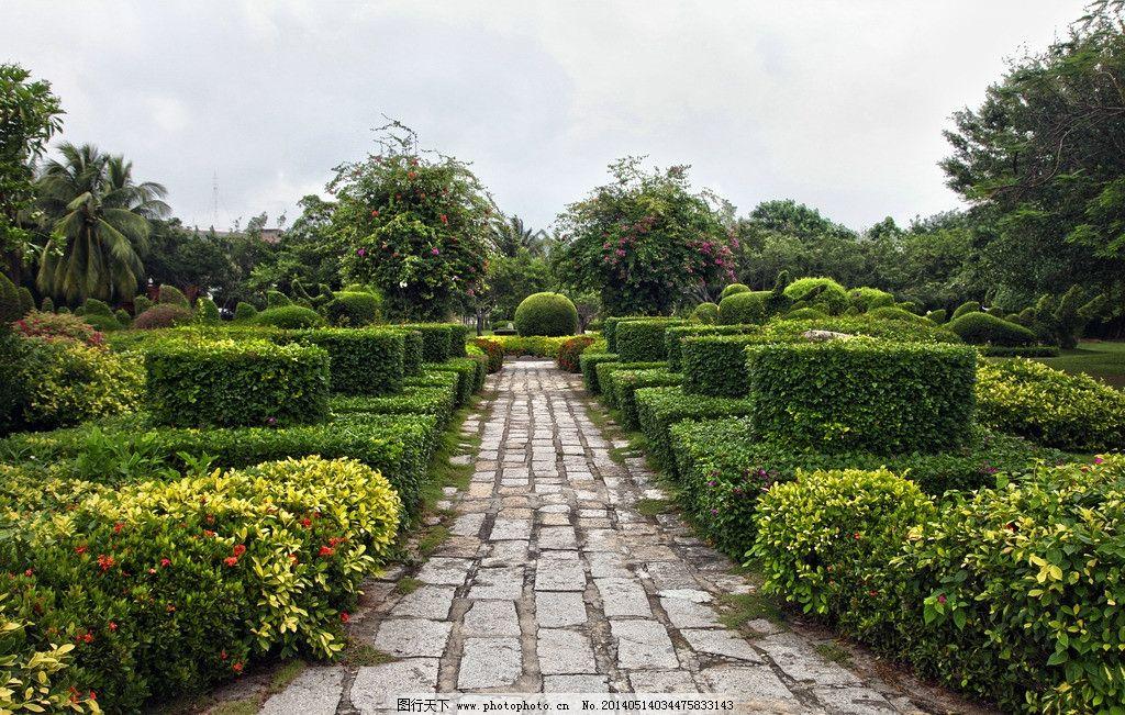 海南园林 海南岛景点 海南风光 名胜景区 热带森林 南海景色 三亚