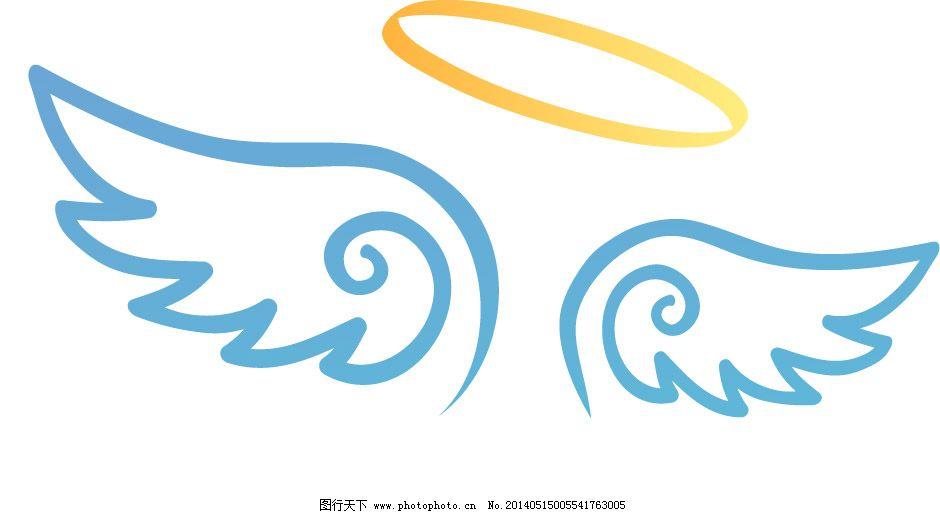 卡通天使翅膀图片