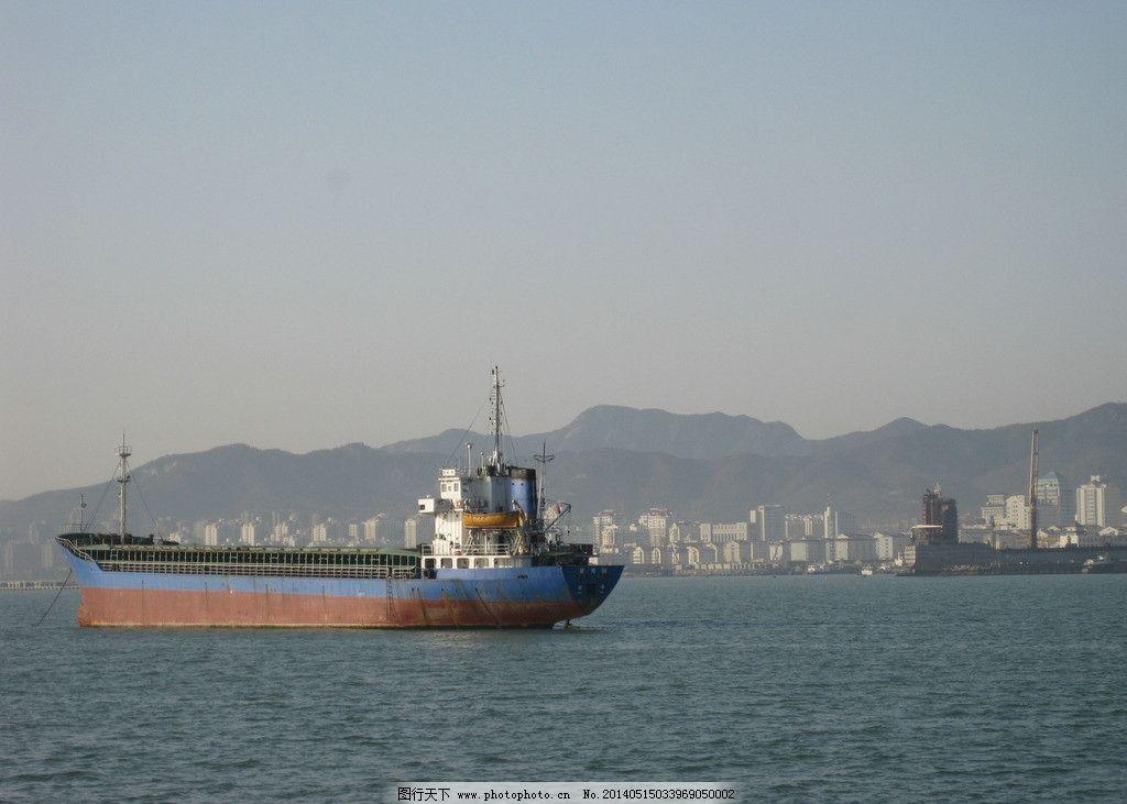 青岛景观 大海 船 建筑 蓝天 阳光 国内旅游 摄影