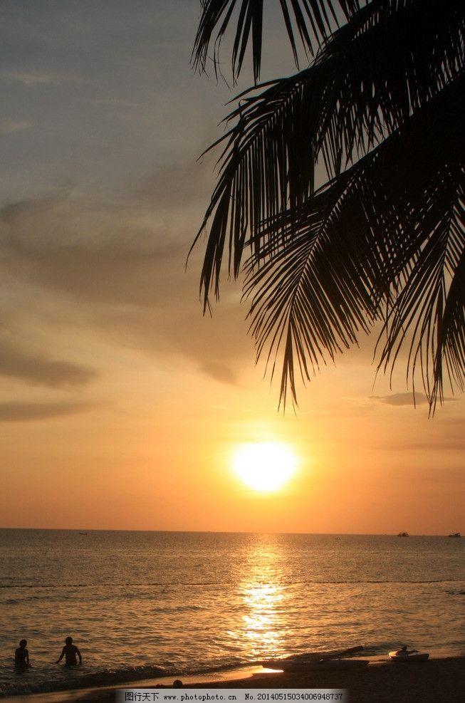富国岛落日图片