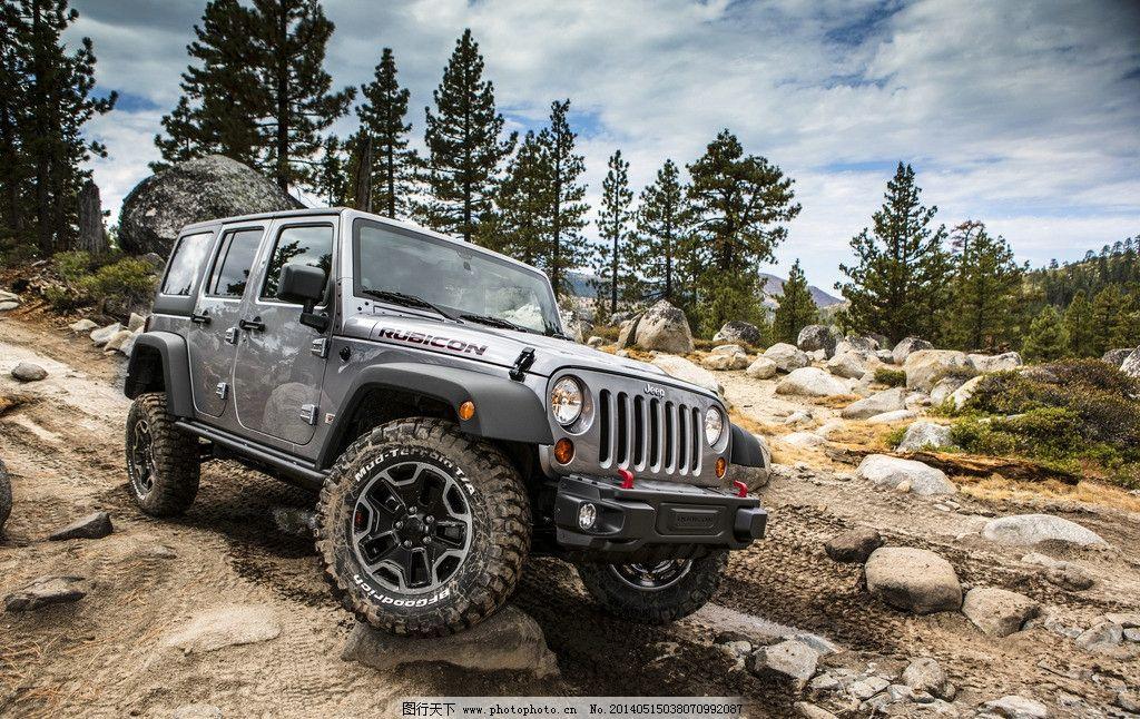 越野车 改装车 汽车 改装 轮毂 山地 越野 jeep 吉普车 交通工具 现代
