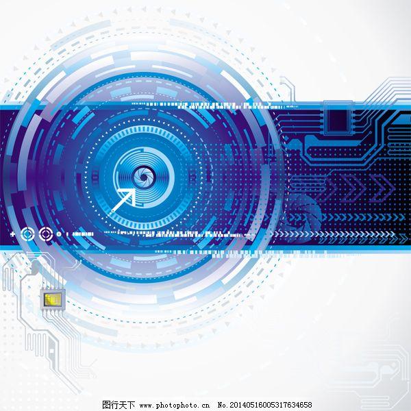 酷炫背景免费下载 电路板 科技 酷炫背景 电路板 科技 酷炫背景 矢量