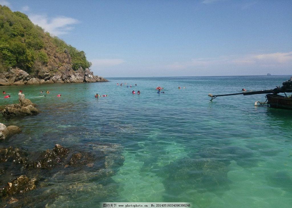泰国普吉蛋岛浮潜图片
