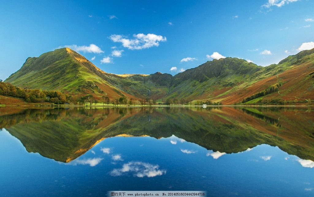 唯美山水风景 湖泊 风景