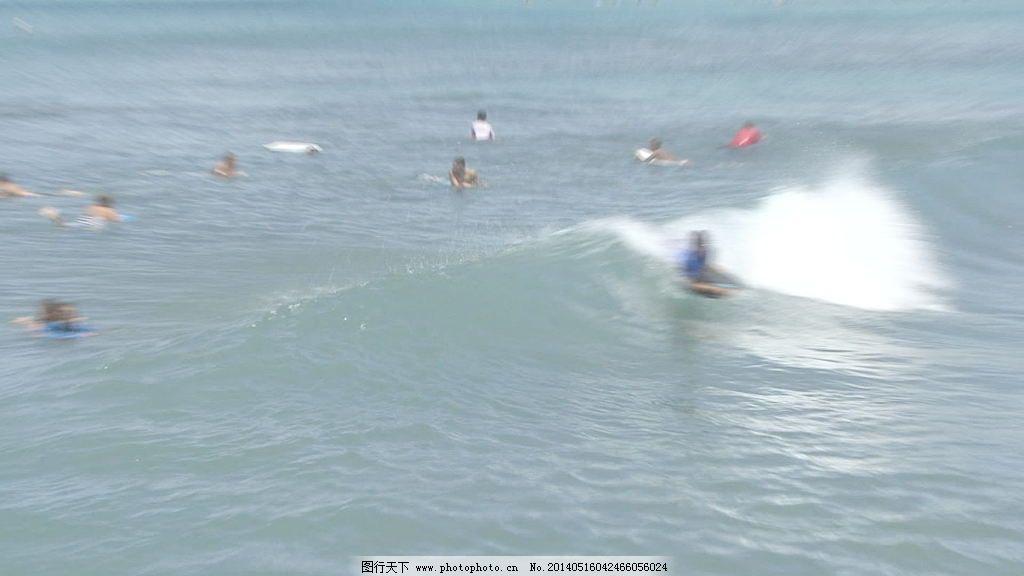 视频/威基基的冲浪者6股票的录像视频免费下载