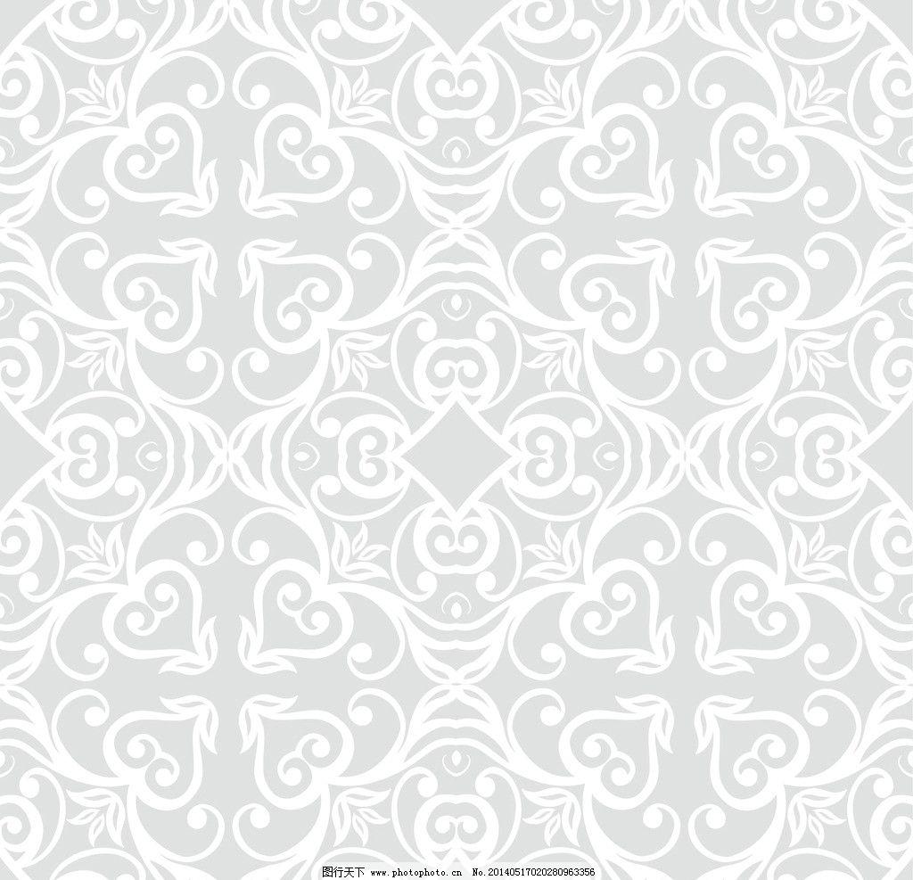 花纹 矢量花纹 简单花纹 花纹素材 经典花纹 时尚花纹 壁纸背景墙