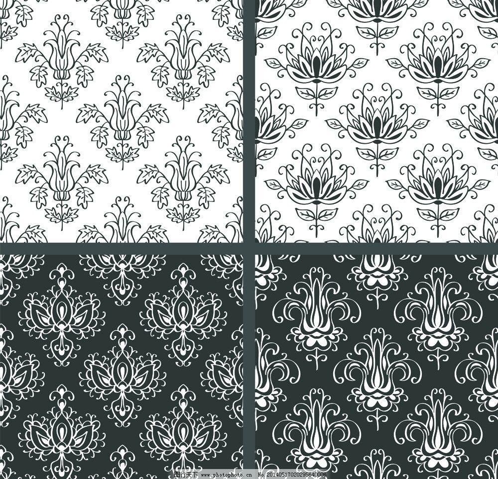 花纹 花 花朵 手绘鲜花 布纹 欧式花纹 图案 墙纸纹 印花 花布 纹理