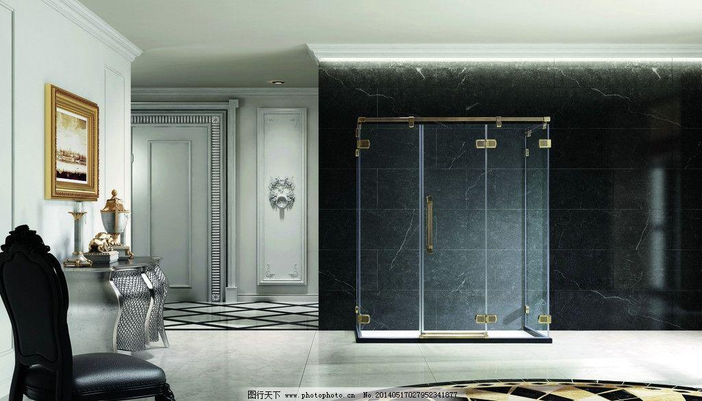 朗斯卫浴 朗斯 卫浴 淋浴房        高清 室内设计 环境设计 设计 300
