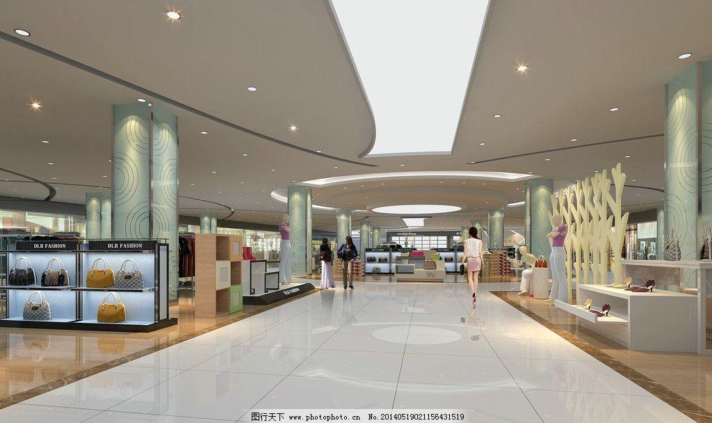 商场中庭装修效果图 商场中庭设计效果图 商场效果图 商场室内效果图