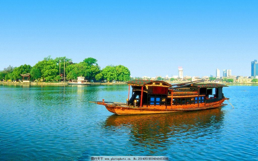 嘉兴南湖红船 湖心岛 中共一大会议 摄影