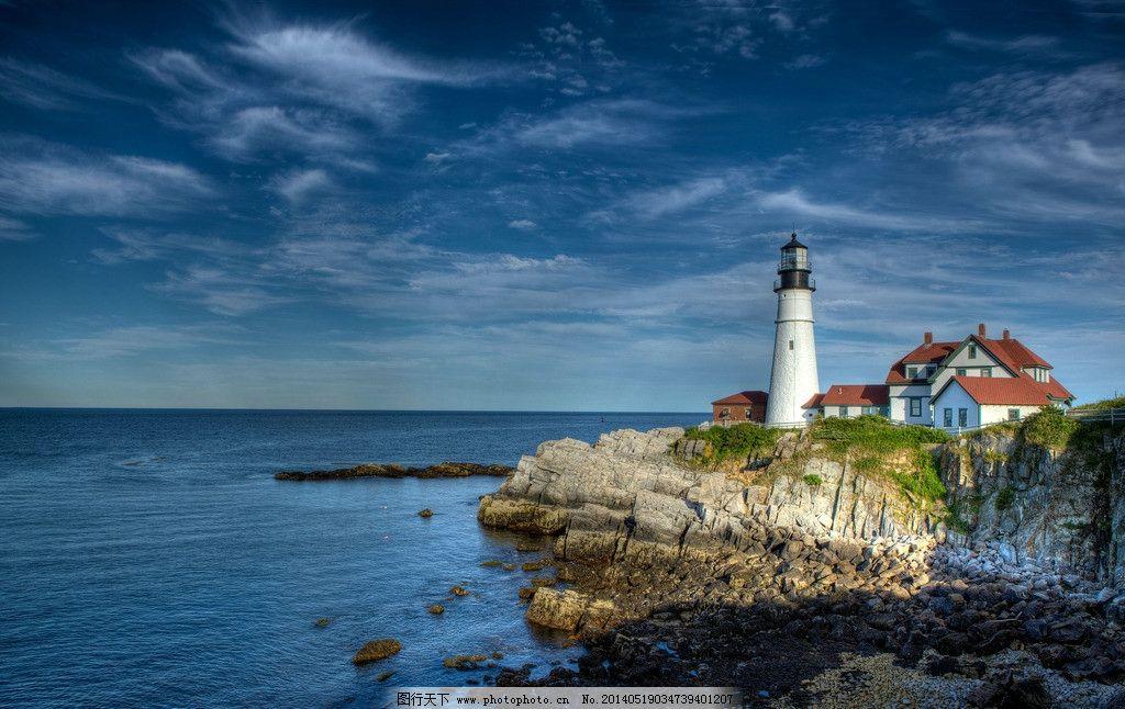美国 波特兰 灯塔图片
