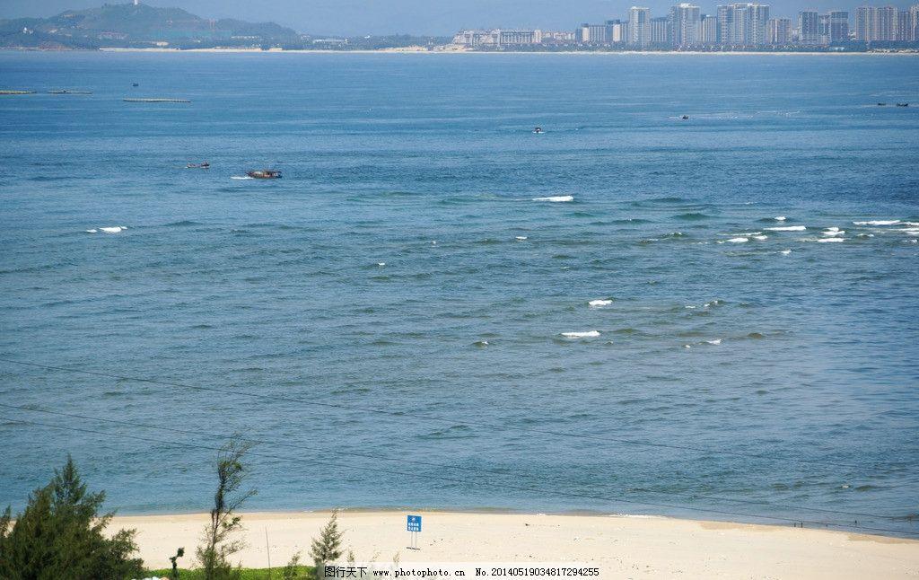 海景 南湾猴岛 蓝天白云 海岛 海滨 海峡 大海 海洋风光 海岸 沙滩