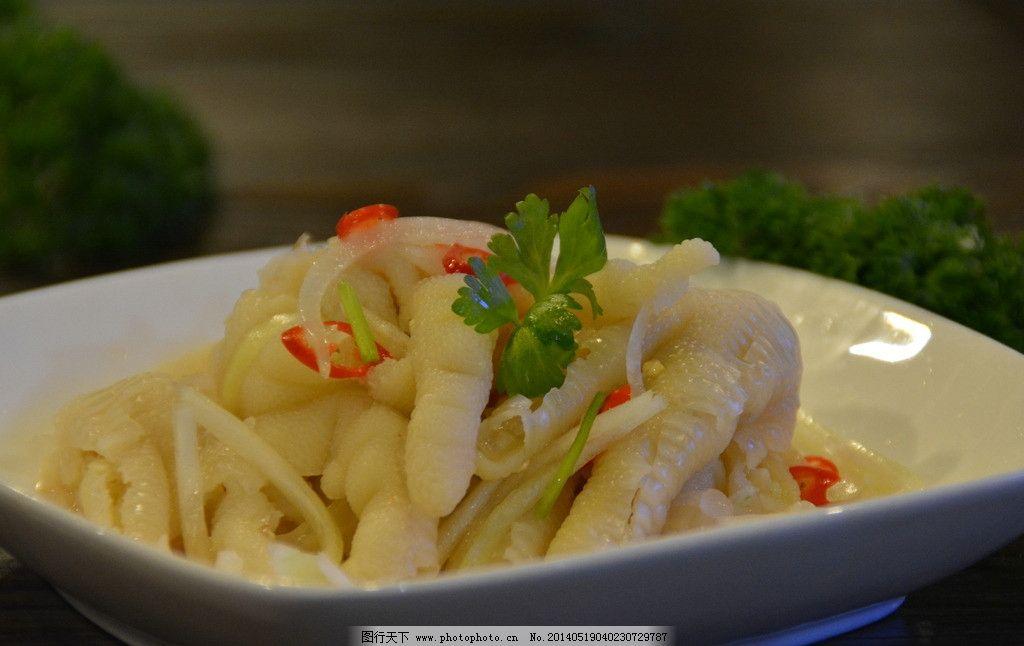 脱骨凤爪 泰式无骨凤爪 凉拌凤爪 鸡爪 酸辣鸡爪 泰国菜 传统美食图片
