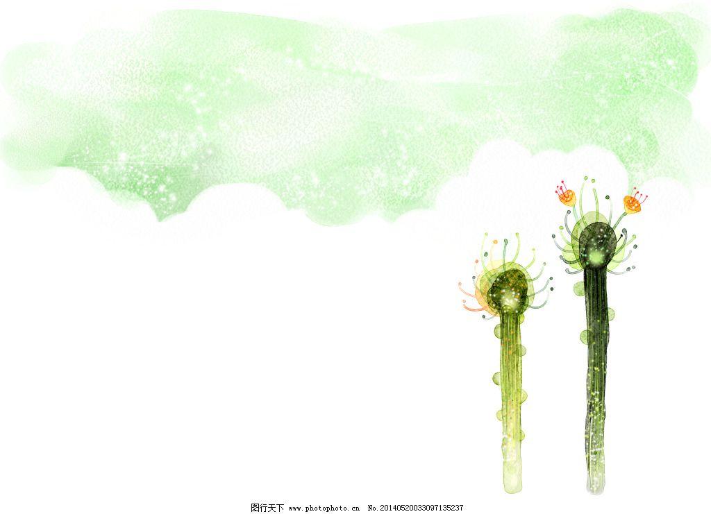 手绘仙人掌免费下载 手绘 水彩画 仙人掌 植物 手绘 水彩画 植物 仙人