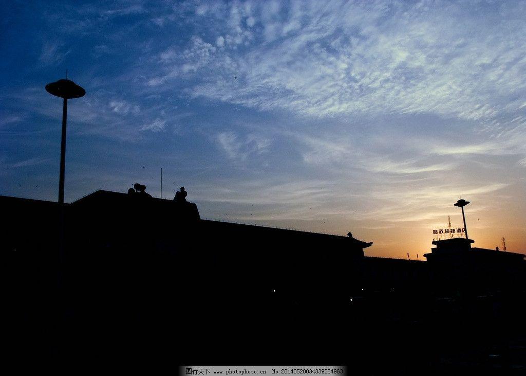 西安火车站早晨图片