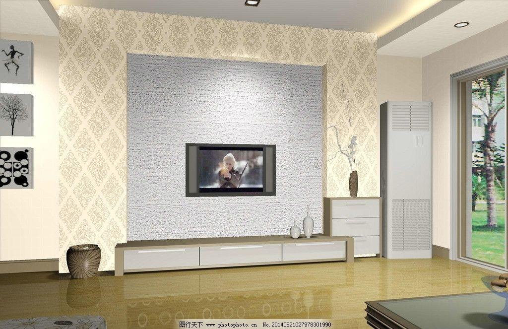 硅藻泥电视背景墙 电视背景墙 硅藻泥 欧式 简欧        室内设计