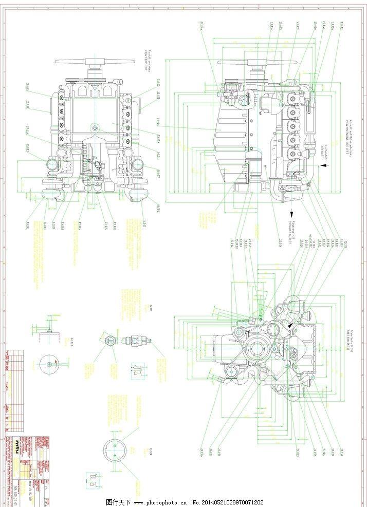 柴油发动机设计分享展示