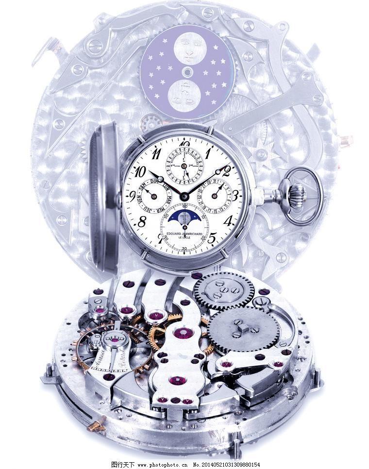 钟表内部结构示意图