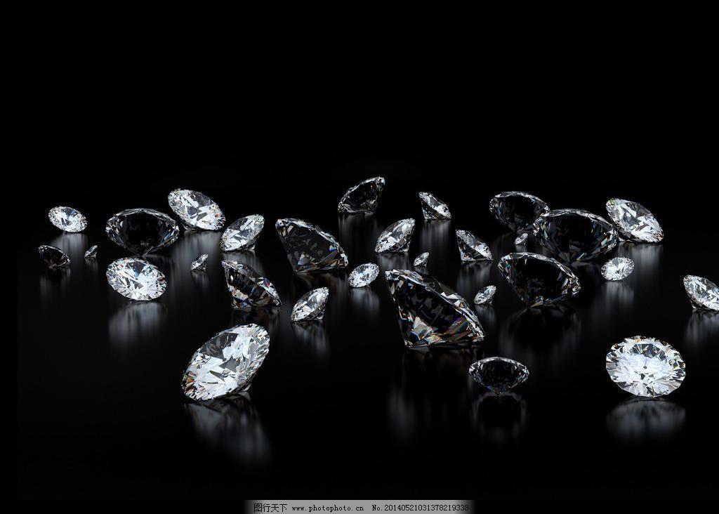 立体钻石手绘图片大全