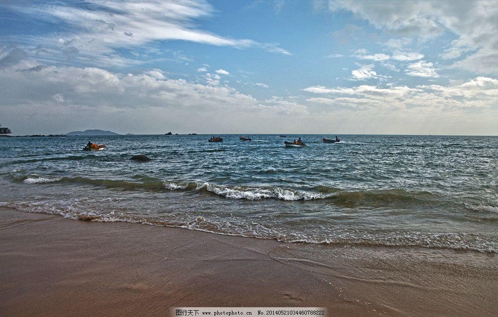南海风光 海南景点 旅游景区 海南自然风光 大海 波浪 沙滩 海南岛
