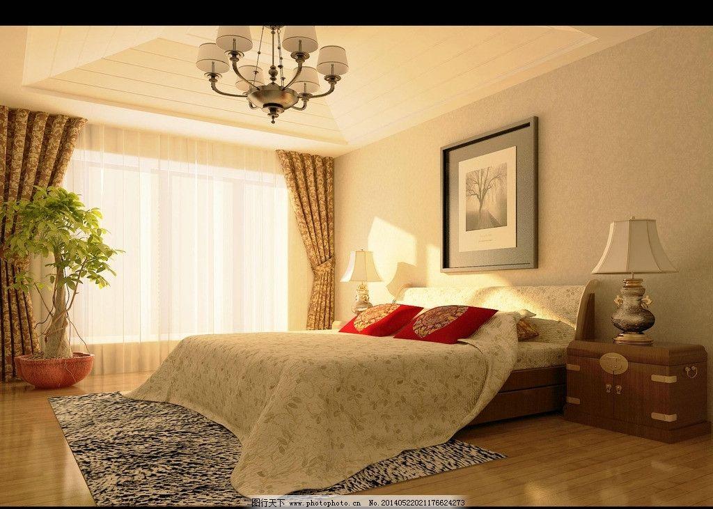 卧室 背景墙 家装 效果图 设计图