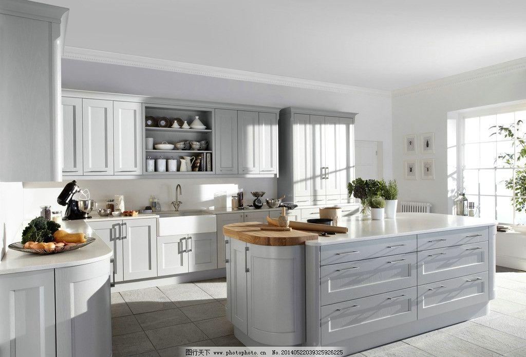 室内 设计 水果 蔬菜 美式 欧式 整体厨房 餐具 别墅 豪宅 家居