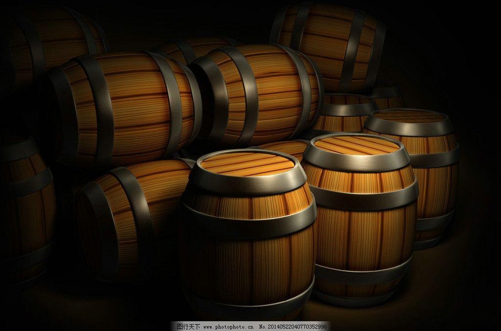 木酒桶图片